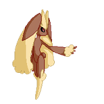 Lopunny sprite animation (click) by TwistedTwisty