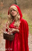 Red Riding Hood - forest- by Na-NaCos