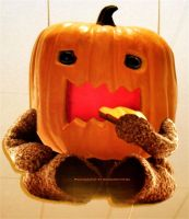 Domo-kun Halloween 015. by GermanCityGirl