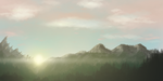 Simple landscape by FractalMoon