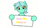 Ask Me Please by FluttershyPony4444