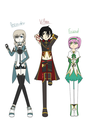 Tales of Mythology- Cast