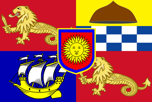 Royal Standard of the Philippines (Variation # 1) by ramones1986