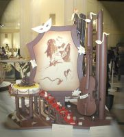 Chocolate Centrepiece by raynich2