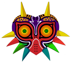 Majora's Mask Vector by toenolla