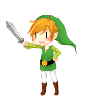 Chibi Link by ImperfectDictator