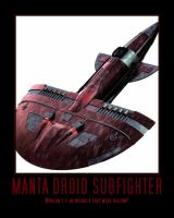 Manta Droid Subfighter by Onikage108