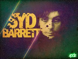 Syd Barrett by SpiderIV