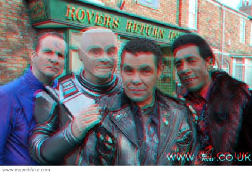 new Red dwarf crew pic 3D by Jayluke2006