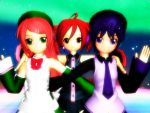 Three Utauloids MMD by shadowhunterchan
