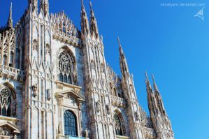 Milan's Magnificent Cathedral by nicoleYaro