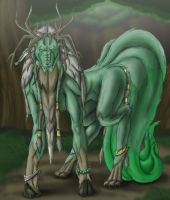 Kalik the God of Soil by Cannibal-Cartoonist