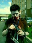 Zombie Ed Cosplay by MyWorldInColor