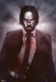 John Wick by Devin-Francisco