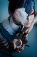 Ciel Phantomhive AND MY FAV ROCKING CHAIR!!!! by kagehana-kagehana