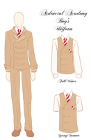 Ardencial Academy Boy's Uniform by vicfania8855