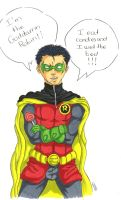 Goddamn Robin Colo by Grimmby