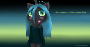 Queen chrysalis by ChicaSuperKiller