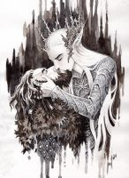 Kiss in Mirkwood by Candra