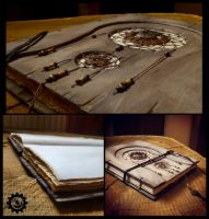 Dreamcatcher book -- more views by ZombieArmadillo