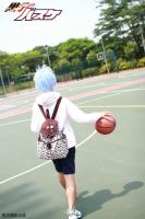 Kuroko Walks into the court by yuk-A-rin