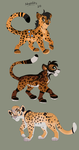 Jaguar adoptables! -ONE LEFT- by Kitchiki