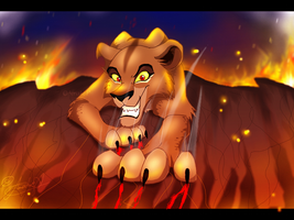 The return of Zira by Art-by-Ling