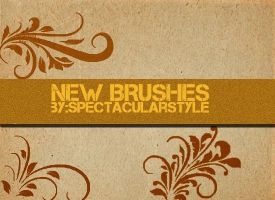 brushes set 01 by spectacularstyle