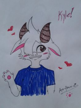Kyle! [Art Trade #5] by Aud-Prsn