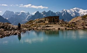 Lac Blanc by bongaloid
