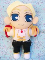 Alfonso plushie by VioletLunchell