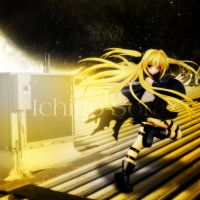 Golden Darkness by Ichigo-Sora