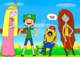 It's Mario Time! by AwkwardMoosey
