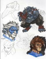 ThunderCats concept for issue 0 by DanNortonArt