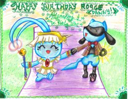 HAPPY Bday RO9GE 8D YAY by ManaDarkMagicianGirl