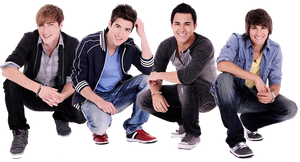 Big Time Rush Png by JosefaBellalovers