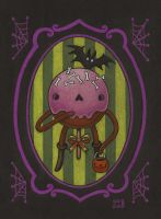 Spooky Cake Pop - sketch by grelin-machin