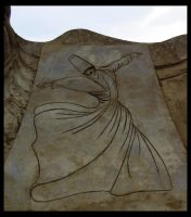 Whirling Dervish by sculptin