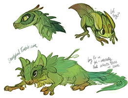 Leaf Critters by Shantyland