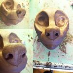 Canine Blank .:SCULPT:. by Ice-Neko890