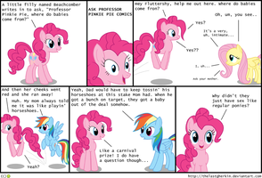 Ask Professor Pinkie Pie by TheLastGherkin