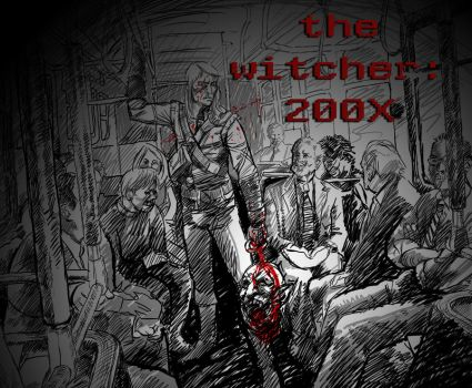 the witcher: 200X by samhears