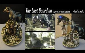 The Last Guardian speaker enclosure by foxfoxwaltz