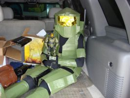 Master Chief goes shopping 2 by Gubreez