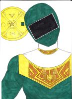 Power Rangers Zeo IV Green Ver. 1 by SeptimusParker