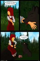 Little Red Riding Wolf. Page 2 by Star--Shard