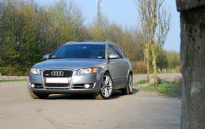 Audi A4 B7 First shot by aBeat