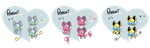 [ 3/3 Open ] Panari Batch #1 (View Full-size ) by SquiggleCakes