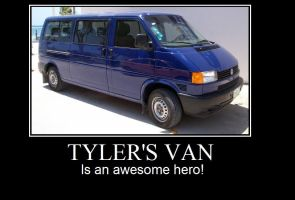 Tyler's van by JumpinSoraa