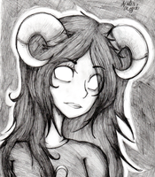 Ghosty Ghost Aradia by cluelesscomedy123
